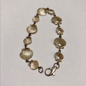 Jewelry - Sterling Silver Seashells Bracelet